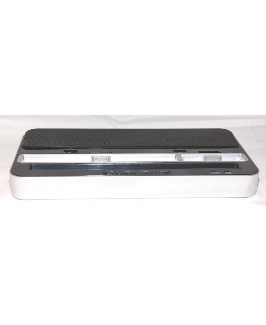 Док станция Ipega PG-IP115 с аудио для IPhone/Ipad/Samsung. Черный цвет