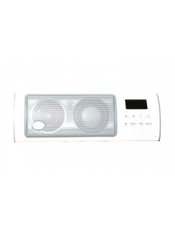 Портативная колонка ROYQUEEN X6III с LCD дисплеем для смартфона. Белый цвет