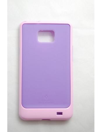 Чехол SGP Neo Hybrid Samsung Galaxy S2 i9100. Розовый/фиолетовый цвет