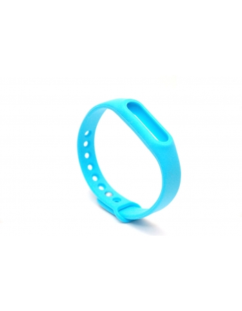 Ремешок для браслета Xiaomi Mi Band 2 Оригинал. Голубой цвет