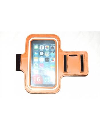 """Спортивный чехол для Iphone 6 PLUS (5.5""""). Оранжевый цвет"""