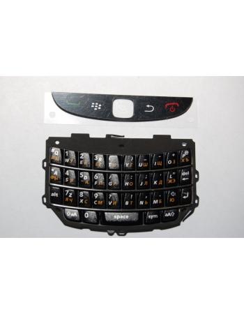 Клавиатура для Blackberry 9800. Черный цвет