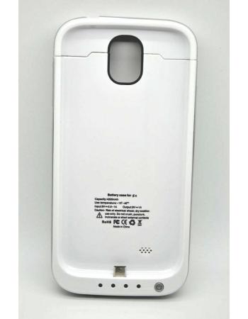 Чехол-аккумулятор Samsung Galaxy S4, 4200 Mah. Белый + серый цвет