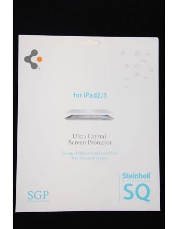 Прозрачная пленка SGP Ultra Crystal для Ipad 2/3