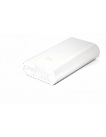 Мобильный аккумулятор Xiaomi Power Bank 5200 mAh. Серебристый цвет