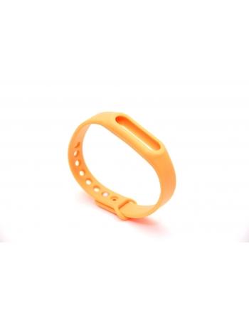 Ремешок для Xiaomi Mi Band. Оранжевый цвет
