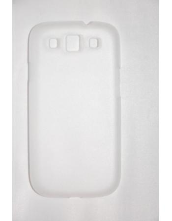 Ультратонкий чехол 0.6 мм Samsung Galaxy S3 SIII i9300. Прозрачный цвет