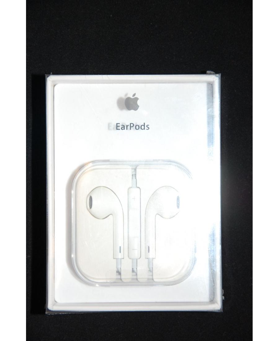 Наушники MD827FE/A для Iphone Apple EarPods с управлением громкостью и микрофоном. Оригинальные