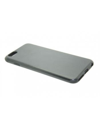 """Кожаный чехол для Iphone 6 PLUS (5.5""""). Черный цвет"""