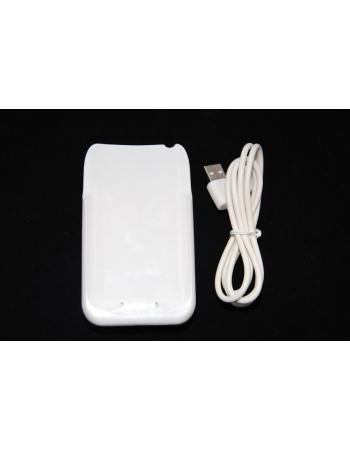Чехол-аккумулятор Iphone 3gs, емкость 1800 Mah. Белый цвет