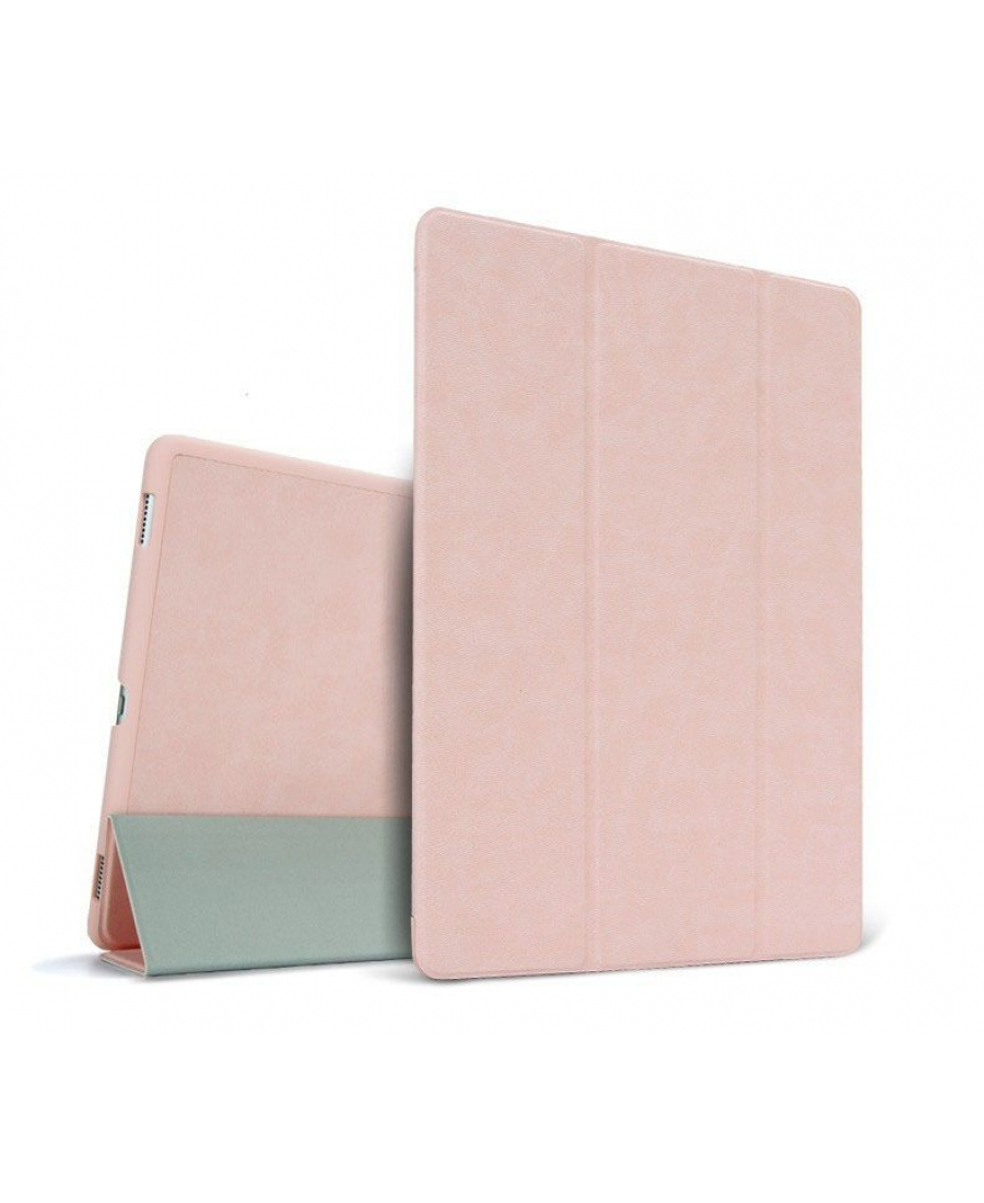 Кожаный чехол Apple Ipad PRO 10.5. Розовый цвет