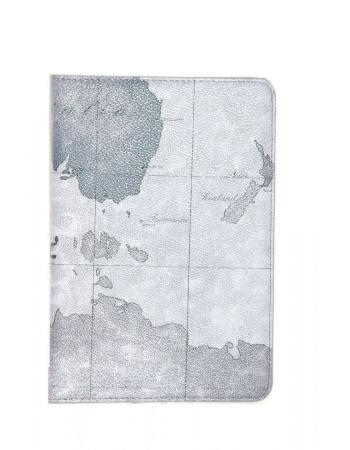 Чехол Ipad mini 2 (retina) World Map. Серый цвет