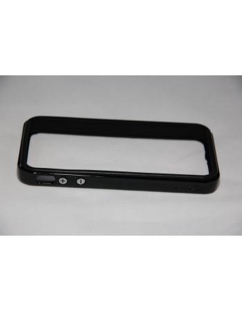 Чехол Iphone 4/4s Bumper SGP Neo Hybrid EX. Черный цвет