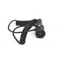 Автомобильная зарядка Ipad/Ipad mini Lightning, 2A. Черный цвет