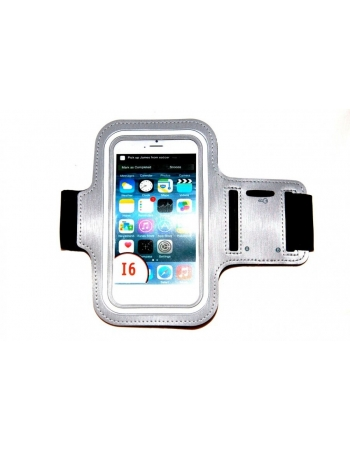 "Спортивный чехол для Iphone 6 PLUS (5.5""). Серый цвет"