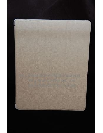 Кожаный чехол для Ipad 2. Белый цвет. Бренд YooBao