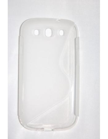 Гелевый чехол Samsung Galaxy S3 i9300. Прозрачный цвет