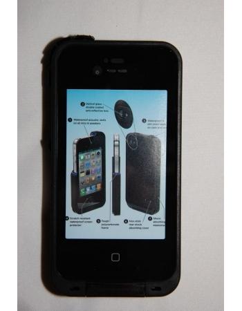 Водонепроницаемый чехол Iphone 4/4s пр-во Ipega. Черный цвет