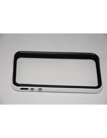 Чехол Iphone 4/4s Bumper SGP Neo Hybrid EX. Белый/черный цвет