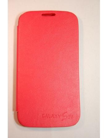 Чехол Flip Samsung Galaxy S4. Красный цвет