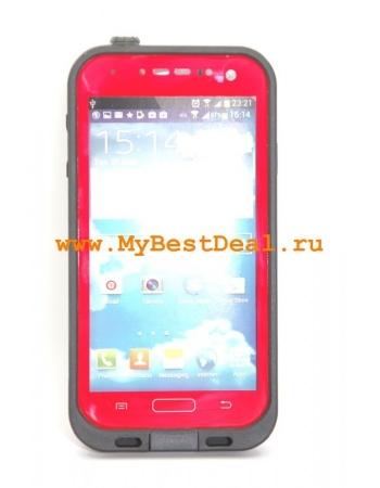 Водонепроницаемый чехол Samsung Galaxy S4. Красный цвет