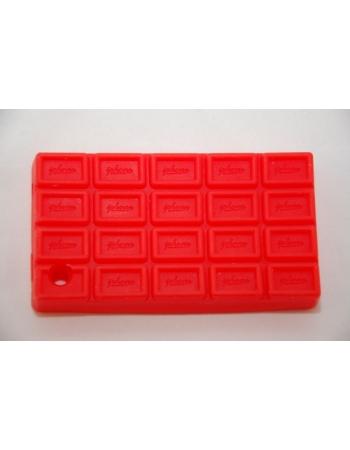 Чехол-шоколадка для Iphone 3g/3gs. Красный цвет