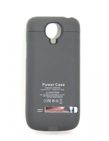 Чехол-аккумулятор Samsung Galaxy S4 mini 3000 Mah. Черный цвет
