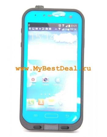 Водонепроницаемый чехол Samsung Galaxy S4. Голубой цвет