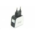 Сетевое зарядное устройство для Ipad 2.1A/1A, 2хUSB.Евро.