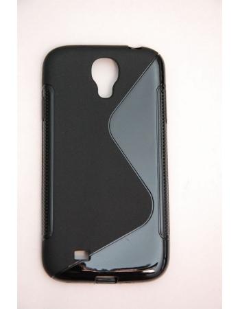 Гелевый чехол Samsung Galaxy S4. Черный цвет