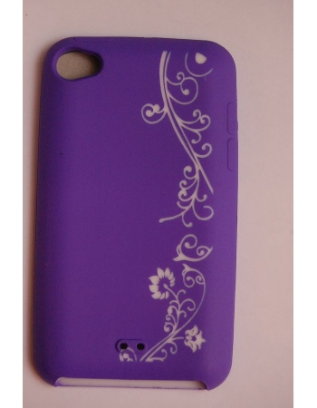 Силиконовый чехол Ipod Touch 4. Фиолетовый цвет