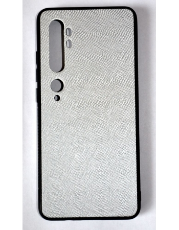 Чехол Mi Note 10/10 Pro. Серебристый цвет