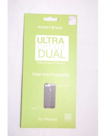 Комплект матовых пленок Iphone 5 SGP Ultra Optics