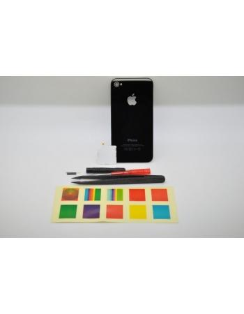 Комплект светояблоко Iphone 4, new version. Черный цвет