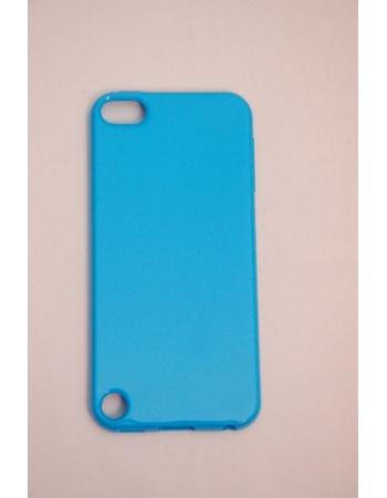 Гелевый чехол Ipod Touch 5. Голубой цвет