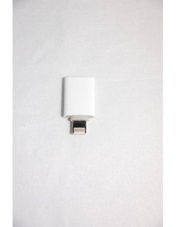 Адаптер для iPhone 5 Lightning to Micro USB Adapter. Белый цвет