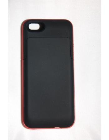 Чехол-аккумулятор Iphone 5, 2200 Mah. Черный/красный цвет