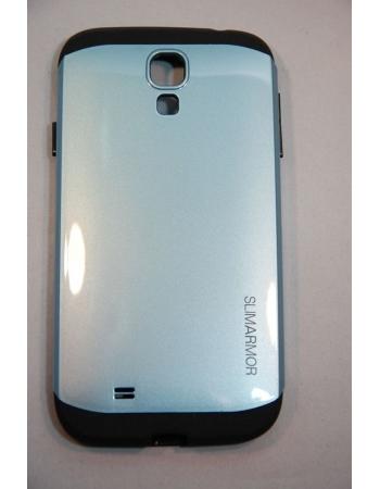 Чехол Samsung Galaxy S4 SLIM ARMOR SPIGEN. Серый цвет