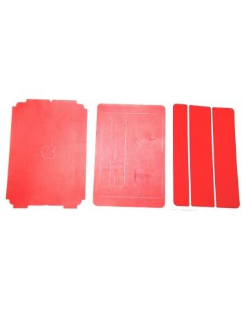 """Виниловая наклейка """"Кожа"""" Ipad mini. Красный цвет"""