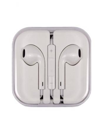 Наушники-гарнитура Apple EarPods с разъёмом 3,5 мм MD827ZM/A. Оригинальные