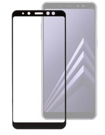 Защитное стекло Samsung Galaxy A8/A5(2018). Черный цвет