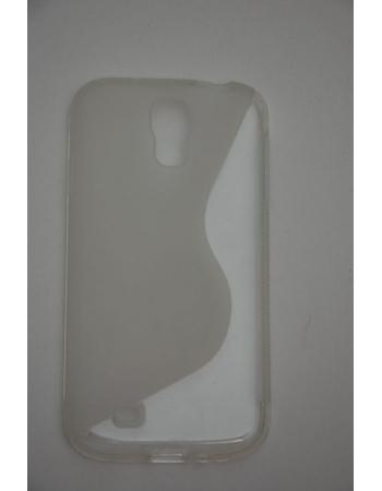 Гелевый чехол Samsung Galaxy S4. Прозрачный цвет
