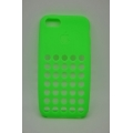 Силиконовый чехол Iphone 5c DOT. Зеленый цвет