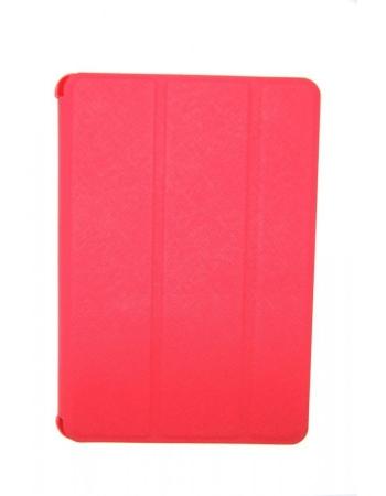 Кожаный чехол Ipad mini 2 (retina) Smart Case. Красный цвет