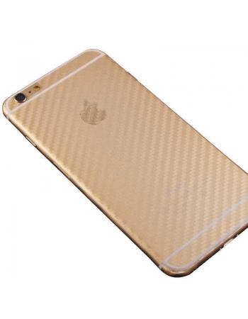 Карбоновая наклейка для Iphone 8. Прозрачная