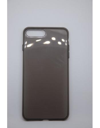Силиконовый чехол Iphone 7 plus, Baseus. Черный цвет