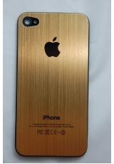 Панелька Iphone 4. Металл. Золотой цвет