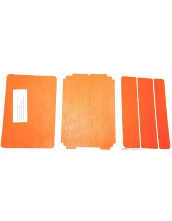 """Виниловая наклейка """"Кожа"""" Ipad mini. Оранжевый цвет"""