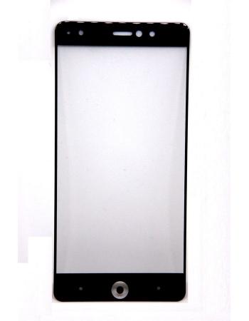 Защитное стекло BQ Aquaris X / X Pro. Черный цвет