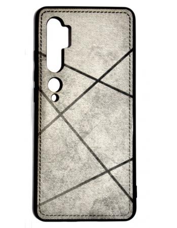 Чехол Xiaomi Mi note 10/10 pro текстильный. Серый цвет